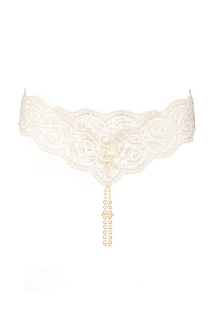 a33616e2766db Bracli Your Night Luxury Lace   Double Pearl Thong